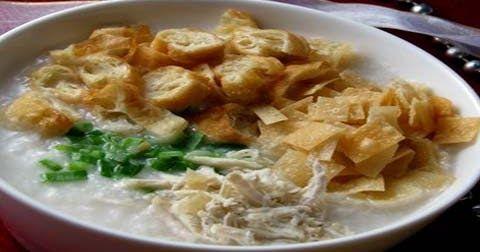 Resep Bubur Ayam Cina Sederhana Yang Mudah Dipraktekkan Di 2020 Ayam Pangsit Resep