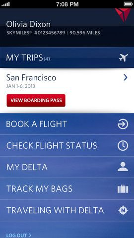 navigation on Fly Delta