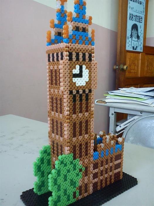 3D Big Ben perler beads by Jean L. - Perler® | Gallery