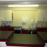 Lordswood community centre's kitchen, Southampton, hire it for activities and parties. Contact the centre directly to make enquiries or see the web page.