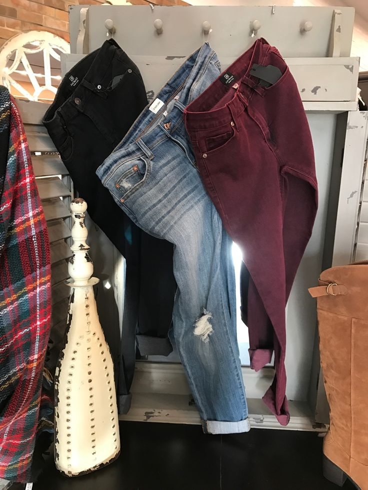 Need some new jeans for those great sweaters you got for Christmas?  We got you covered! #ShopALB #ApricotLaneTS