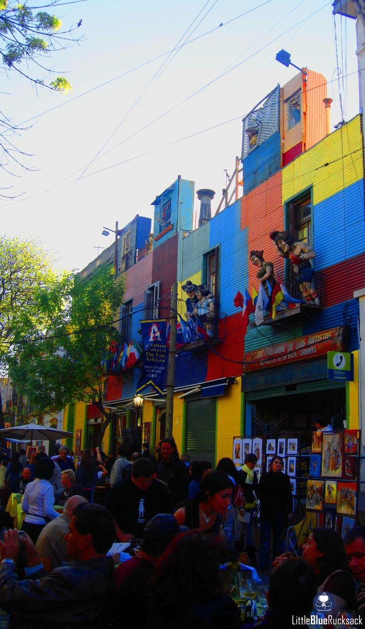 La Boca, Buenos Aires, Argentina - LA Boca is one of the most...