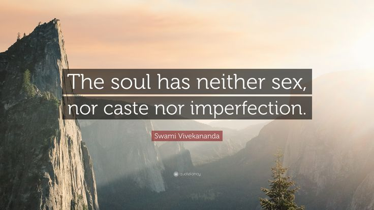 "Swami Vivekananda Quote: ""The soul has neither sex, nor caste nor ..."