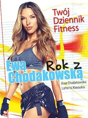 """Ewa wydała dwie książki pierwsza zawiera instrukcje i wskazówki dotyczące treningów oraz praktyczne porady na temat diety i zdrowego stylu życia, dostępna nawet sklepie ,,Żabka"""" za jedyne 34,90 zł"""