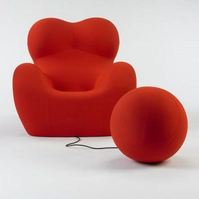 The Gaetano Pesce UP5 Chair and UP6 Ottoman