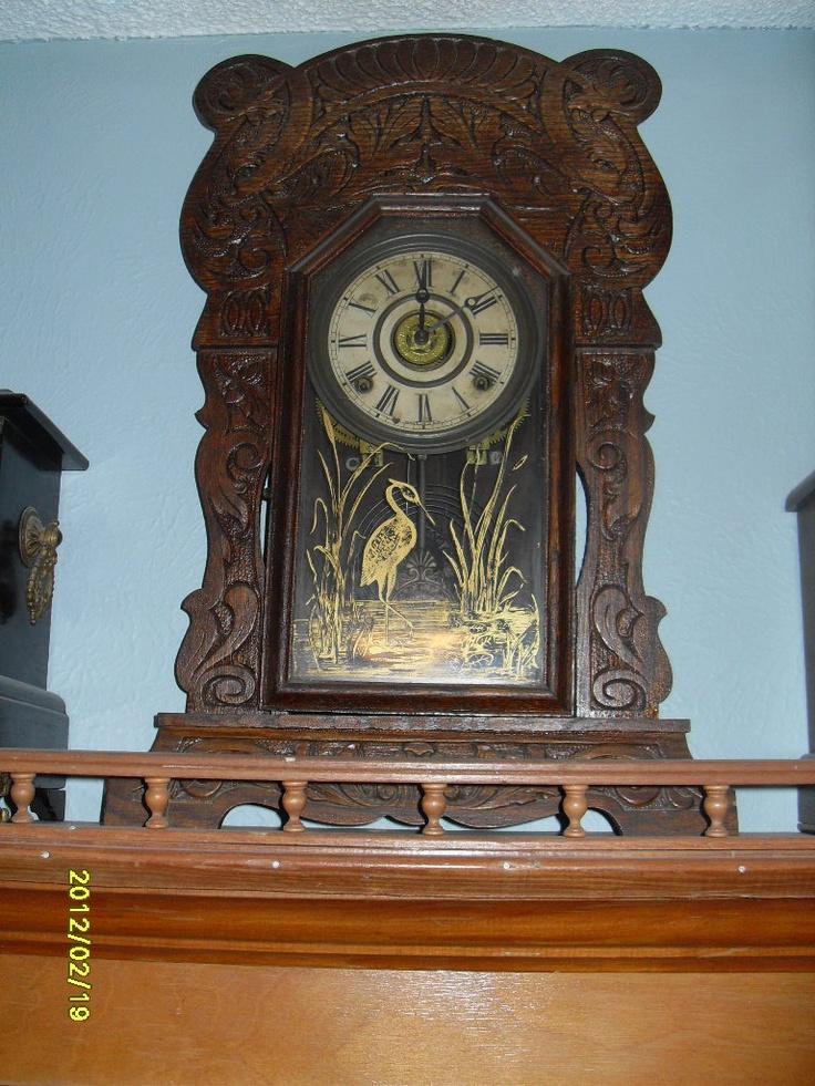Old Mantle Clocks 54