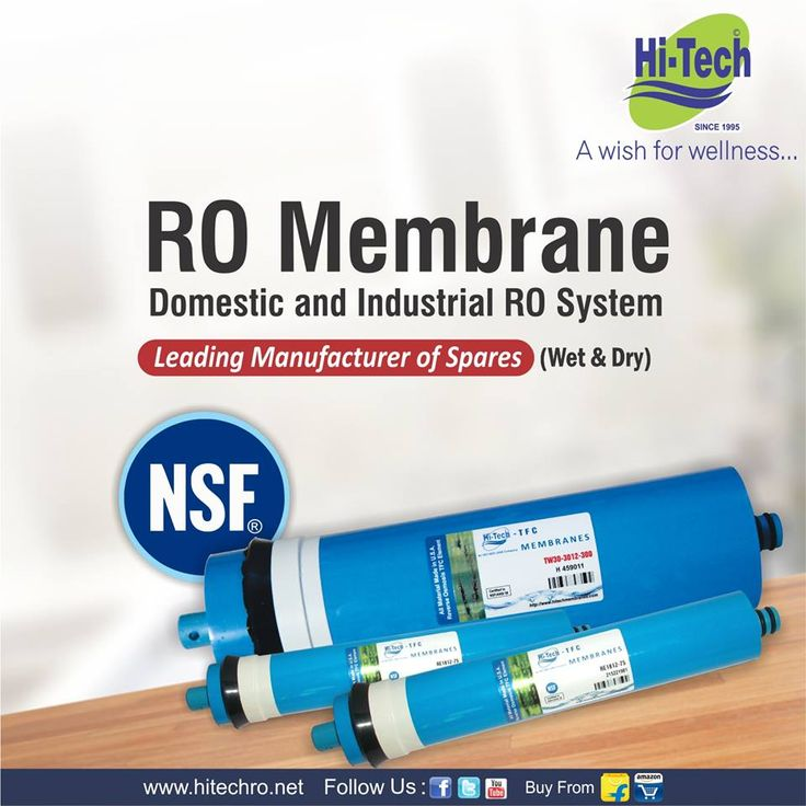 Commercial and industrial ro membrane manufacturer and supplier company by HiTech. http://www.hitechro.net #CommercialRoMembrane #ROMembrane #membrane #DryMembrane #WetMembrane
