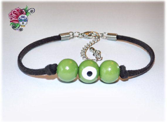 Bracelet Mauvais Oeil Protection Succès par ValniDesignsJewelry