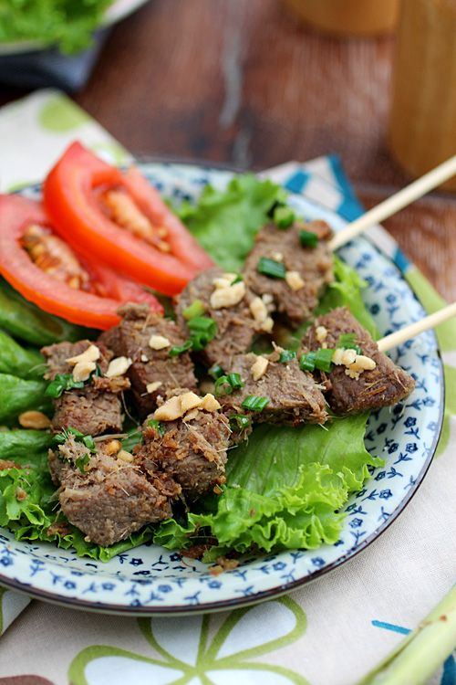 Lemongrass Beef Skewers for the 4th | Easy Asian Recipes http ...