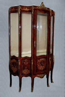 Small/107 This LOUIS XVI STYLE VITRINE Is Item Number 107 In