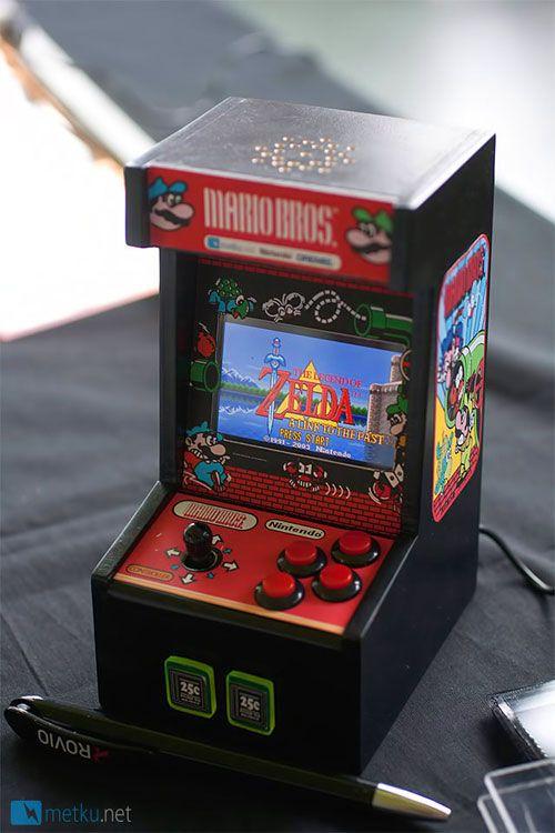 Genial recreativa con el corazón de una Game Boy Advance