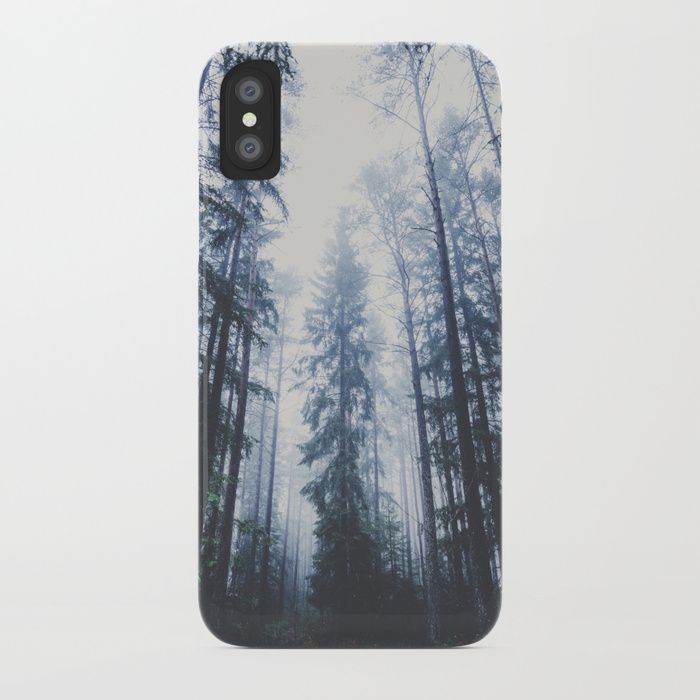 The mighty pines iPhone Case by HappyMelvin. #iphone #nature #wanderlust #forest #phonecases