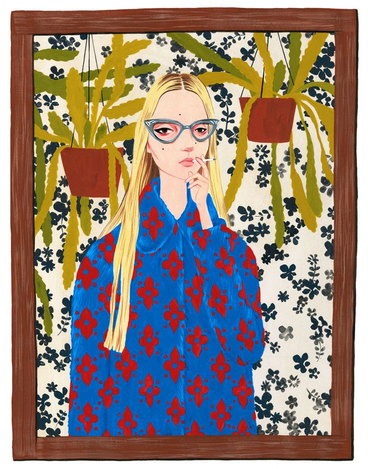 Illustration.Files: Gucci Resort 2016 Fashion Illustrations by Bijou Karman