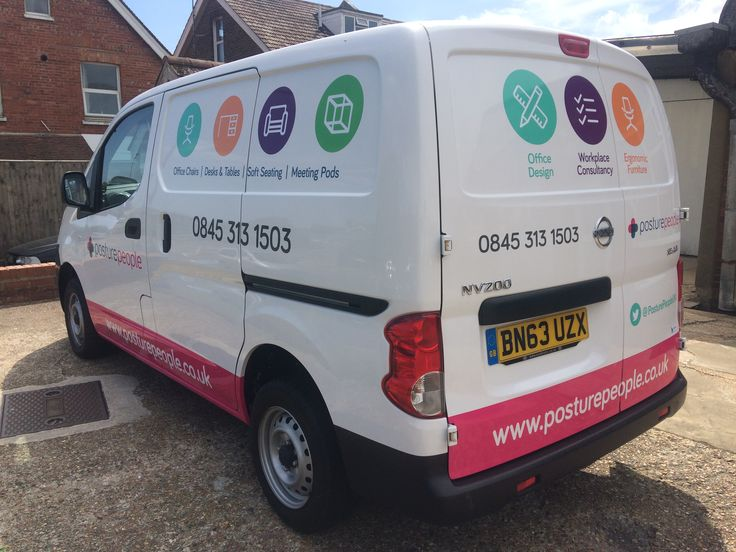 Full colour Vinyl signwriting produced and fitted by The Sussex Sign Company