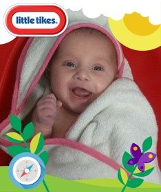 My little lady is applying to become a Little Tikes Tiny Tester, Pop over and like her photo to help her out if you like her pic :) xx