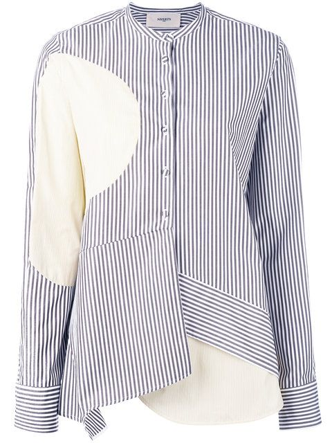 Купить Ports 1961 асимметричная полосатая рубашка .