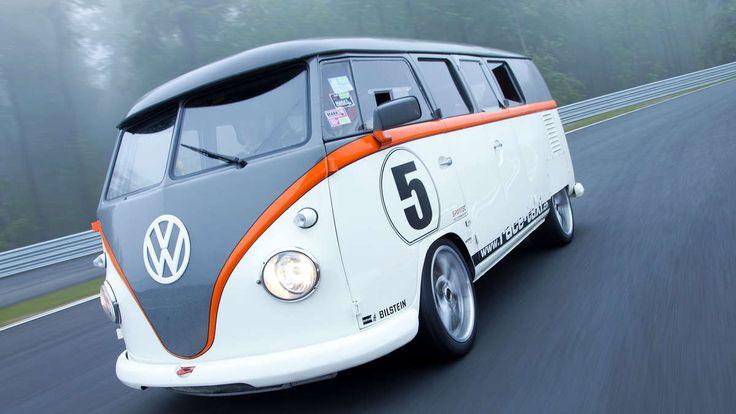 VW T1 Race Taxi mit 530 PS kommt zum GTI-Treffen am Wörthersee 2015.