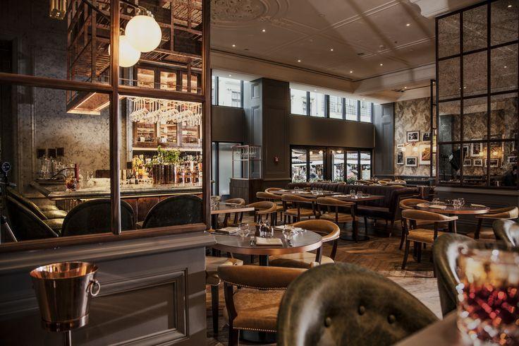 Deak St. Kitchen, Ritz Carlton Budapest by B3 Designers #RitzCarlton #Budapest  #B3Designers #DeakStreetKitchen #DeakStKitchen