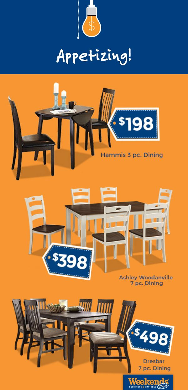 Pin On Kitchen Dining Room, Weekends Only Dining Room Sets