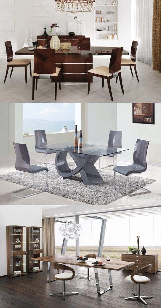 Contemporary Dining Room Sets – Decorating Tips and Ideas - http://interiordesign4.com/contemporary-dining-room-sets-decorating-tips-ideas/