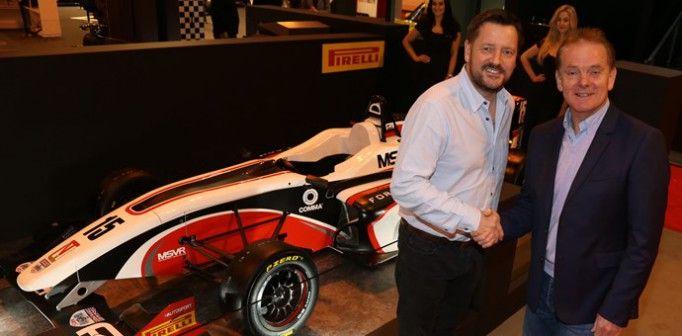 Pirelli Lastikleri, Formula yarışları serisine, yeni bir ürün sponsorluk anlaşmasıyla İngiltere'deki BRDC F4'ü de ekleyerek serinin önümüzdeki sezonlardaki yarış lastiği tedariğini üstlendi.