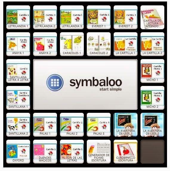 SYMBALLOO CARTILLAS DE LECTURA Y GENERADORES    DE FICHAS DE ESCRITURA  http://www.symbaloo.com/mix/cartillasdelectura?searched=true