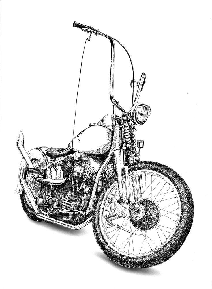 89 Best Vintage Choppers Images Custom