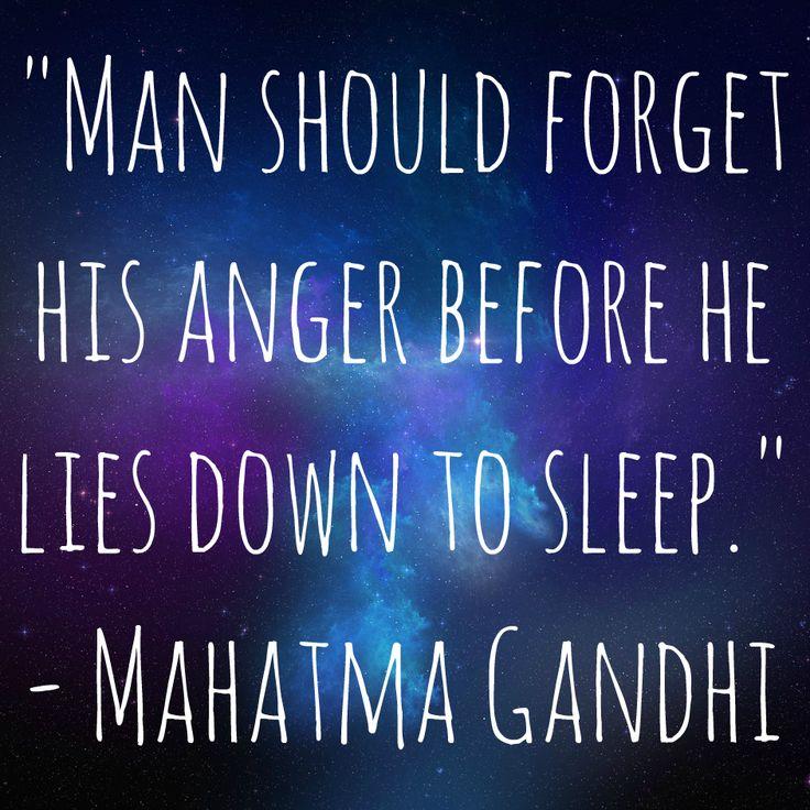 Sleep #quote By Mahatma Gandhi