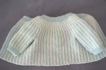 cbbe418a4e58 Brassière pour nouveau-né, patron gratuit   tricoter   Baby knitting,  Layette et Knitting