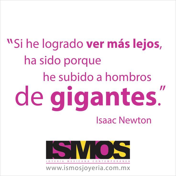 Isaac Newton hablando sobre tener visión // ISMOS Joyería