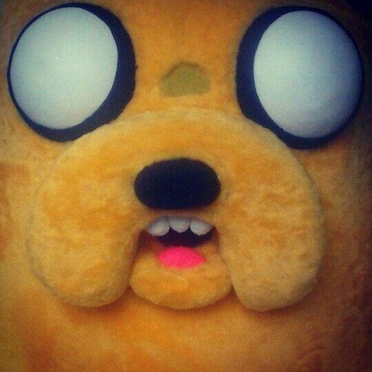 Mais um detalhe, esta quase pronto!!  #HoraDaAventura #JakeTheDog #AdventureTime #JakeOCao #personagemVivo #personagensVivo #bonecoVivo #BonecosVivo #mascote #mascot #MdteStudio #Klenquen #Fantasia  #Festa #festas