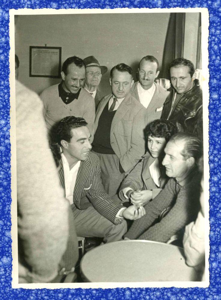 L AMICO GINO BARTALI (F24) CICLISMO-VECCHIA FOTO D EPOCA/OLD PHOTO-ANNI 50 CIRCA
