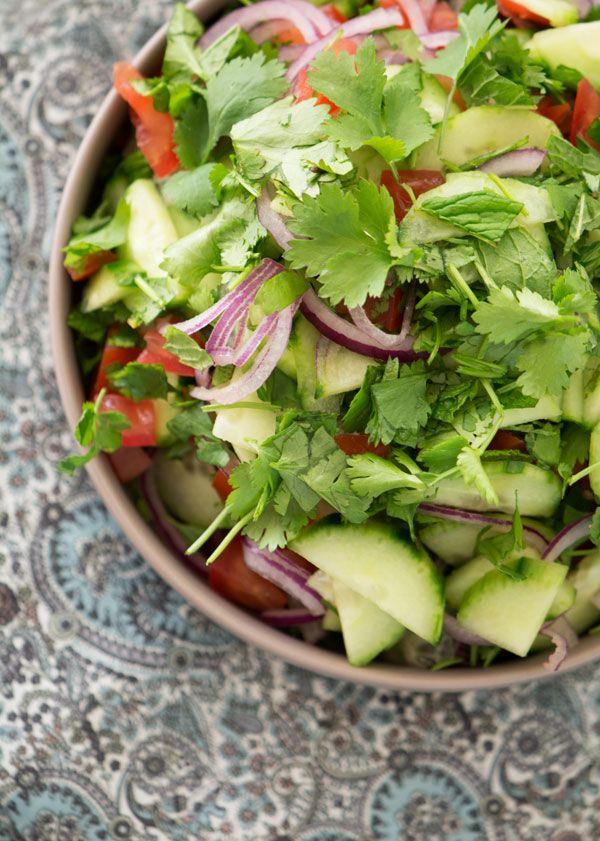 Indisk salat ➙ Opskrift fra Valdemarsro.dk