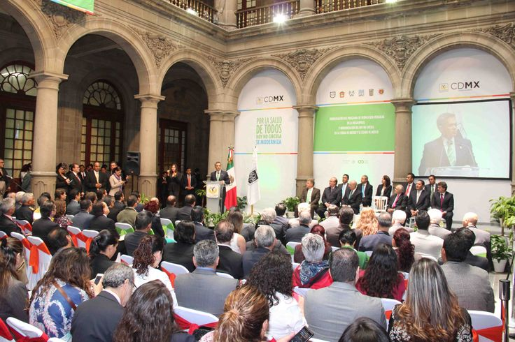 El Jefe de Gobierno del Distrito Federal, Dr. Miguel Ángel Mancera presidio la Homologación del Programa de Verificación Vehicular en la Megalópolis y Modernización del Hoy No Circula en la Ciudad de México y el Estado de México.