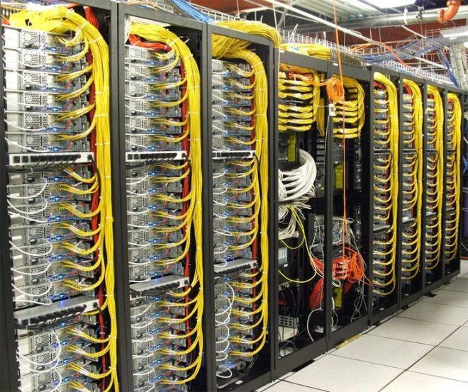 IT support structured cabling technician office building Dubai