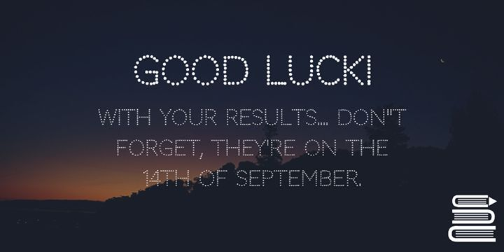 Back to School Time! Few Updates   We hope everyone had as good as summer as we had! The team at JC-Learn has been working hard to implement lots of cool new changes coming to JC-Learn in the next few weeks including a slick new design to make your revision even easier.   Good luck to all our students on the 14th of September getting their results! (We probably don't need to wish you luck if you've been using JC-Learn) www.jclearn.ie - http://ift.tt/1HQJd81