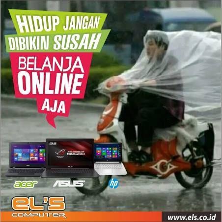 Els Computer melayani order via online dan siap kirim ke seluruh Indonesia. #els #elscomputer #yogyakarta #solo #purwokerto  info --> www.els.id/ SMS/WA --> 085725964942 BBM PIN --> 56083D42 Email --> sales@els.co.id