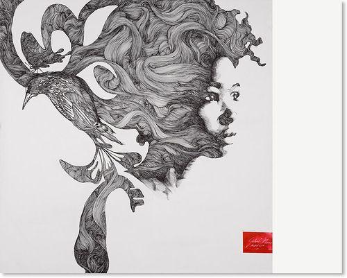 varka: Inspiration: Bird / Woman
