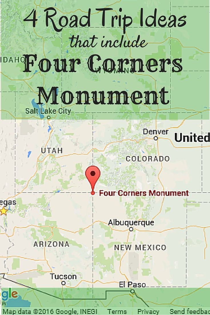 As schoolchildren we learn that there is one place in America where the corners of four states geometrically come together to form the point of four perfect 90 degree angles. It's not u…