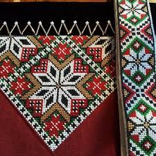 Bilderesultat for mønster til bringeduk hardangerbunad