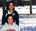 Isabel & Sonya Wang, twins but individuals in Hillyer Colleger, who foudn their voice at the University of Hartford. Read their story.