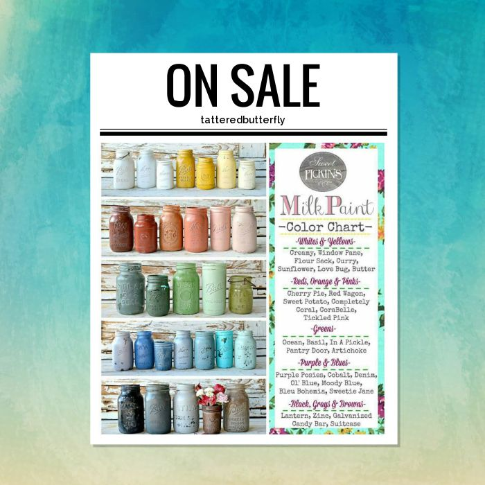 15% OFF on select products. Hurry, sale ending soon!  Check out our discounted products now: https://www.etsy.com/shop/tatteredbutterfly?utm_source=Pinterest&utm_medium=Orangetwig_Marketing&utm_campaign=Sweet%20Pickins%20Milk%20Paint%20Sale   #etsy #etsyseller #etsyshop #etsylove #etsyfinds #etsygifts #sweetpickinsmilkpaint #milkpaintedfurniture #photooftheday #instacool #shopping #onlineshopping #instashop #loveit #musthave #shop #picoftheday #love #OTstores #smallbiz #instagood…