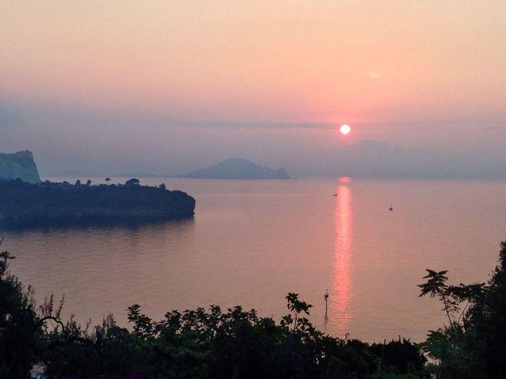 Procida , sunrise (by M. Cardito)