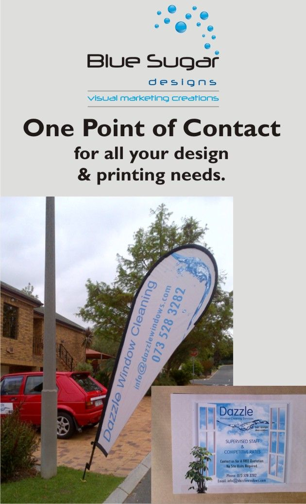 We design, print and install what you need.  One point of contact for everything...