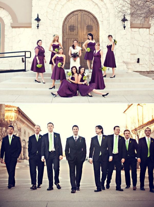 average price for wedding dj in new jersey%0A I like the darker men suits with the purple  Wedding Colors  Vintage Purple    From Stacy Reeves Photography