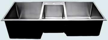 Custom Stainless Steel Extra Large Sinks   Stainless Steel Extra Large Sink