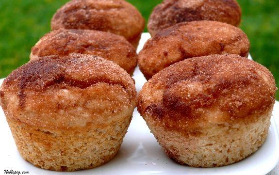 Cinnamon Doughnut Muffins | Noble Pig