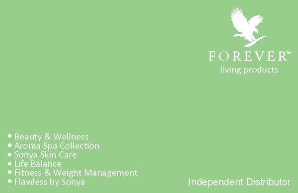 Forever Living Business Cards 1000 £43 Free UK Delivery | Kwik Print Manchester