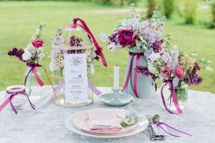 #tischdekoration #tablescape DIY des Monats Juni: Blumensamen als Gastgeschenke | Hochzeitsblog - The Little Wedding Corner