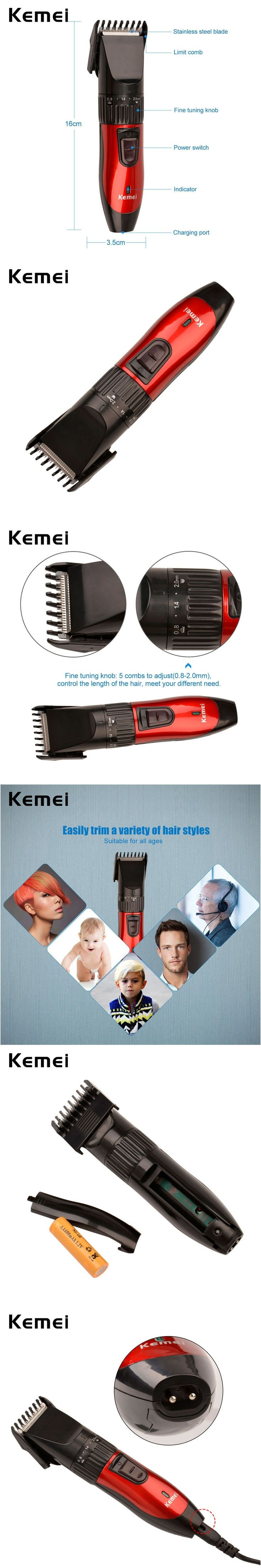Professional Hair Trimmer Clipper Rechargeable Home Haircut Cutting Machine For Men Beard Razor Electric Shaver Personal Care P0